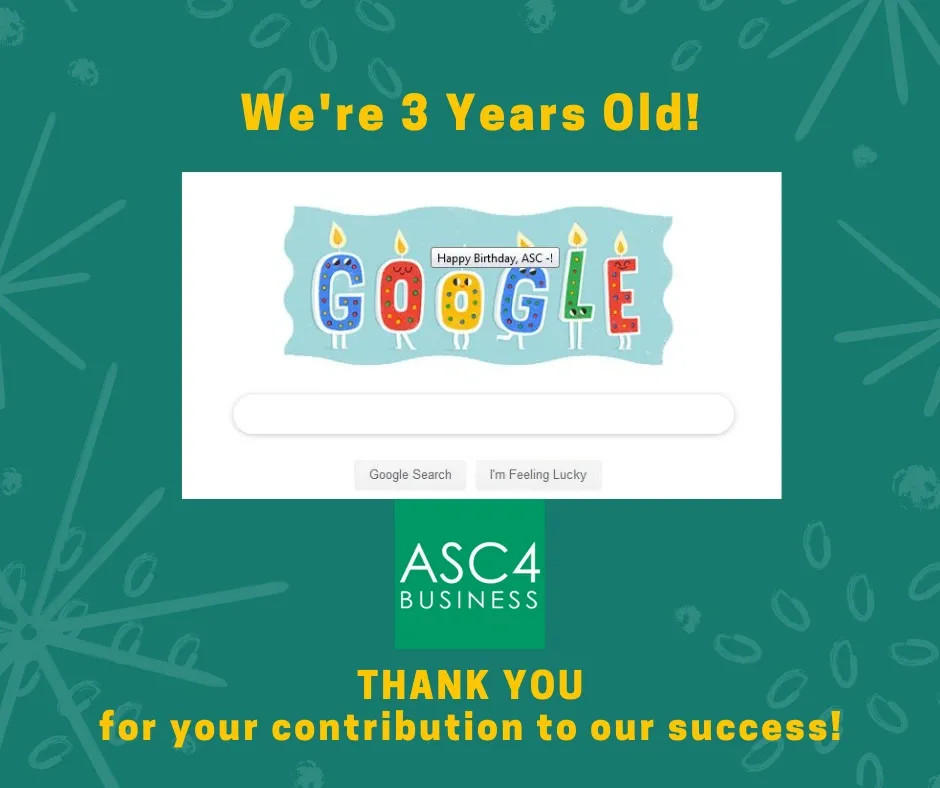 Happy Anniversary! (to all our success partners)